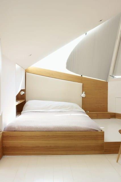 kleines schlafzimmer design mit indirekter deckenbeleuchtung schlafzimmer