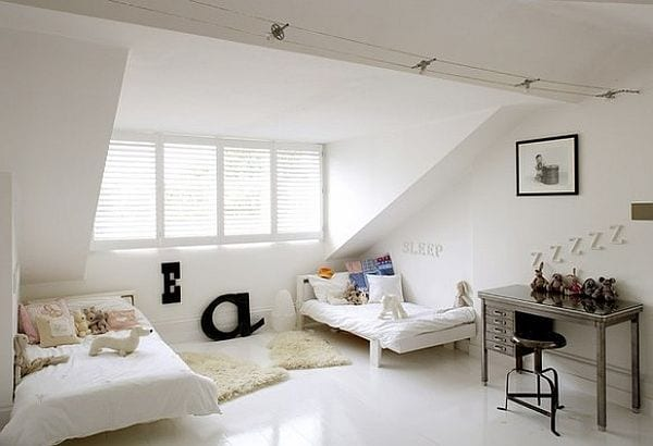 coole kinderzimmer gestaltung und idee für schlafzimmer dachschräge