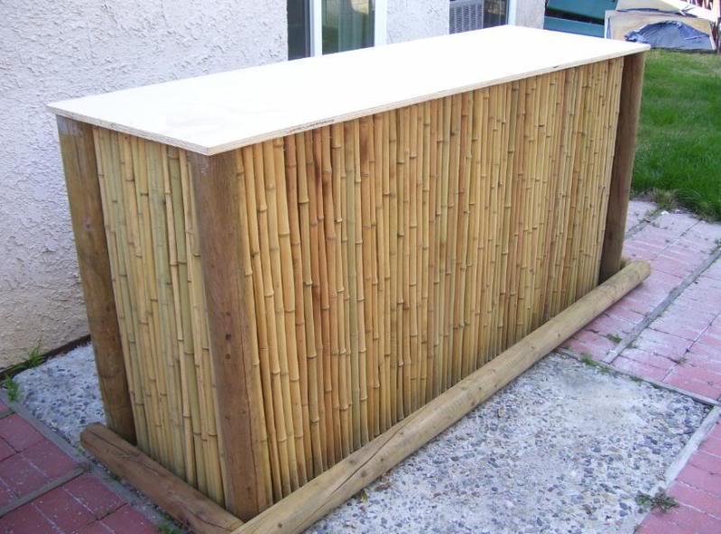 Gartenmöbel aus Bambus selber bauen