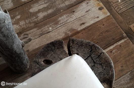 DIY gartenmöbel und Gastronomiemöbel für modernes Holzinterior in weiß und grau