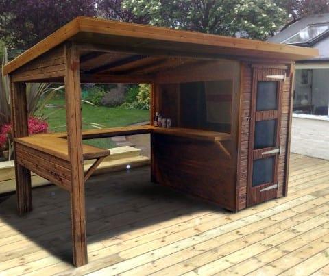 Garten Bar Idee für Garten Einrichtung