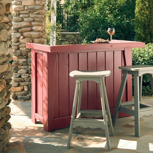 Garten Bar selber bauen fresHouse