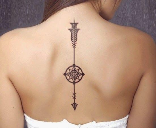 coole pfeil tattoo idee