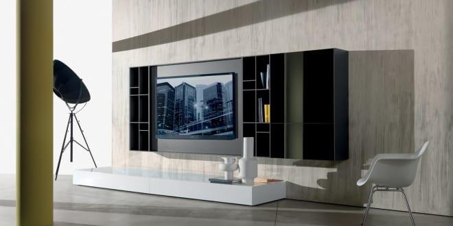 tv wandpaneel n c smartwall von massimo castagna freshouse. Black Bedroom Furniture Sets. Home Design Ideas