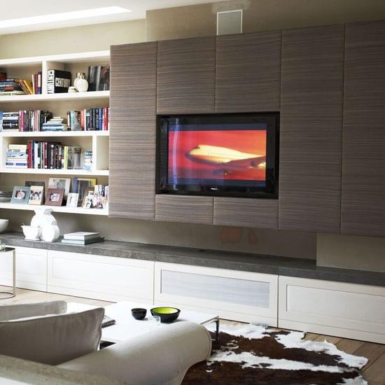 33 moderne tv-wandpaneel-designs und modelle - freshouse, Hause deko