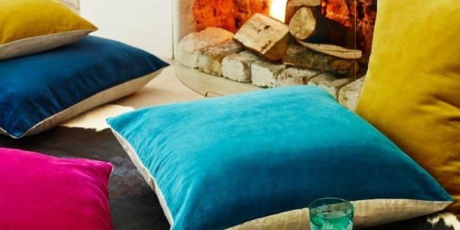 bunte bodenkissen f r gem tliche raumgestaltung und frishe farbgestaltung freshouse. Black Bedroom Furniture Sets. Home Design Ideas