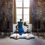moderne Bodenkissen für stylische raumgestaltung und komfort