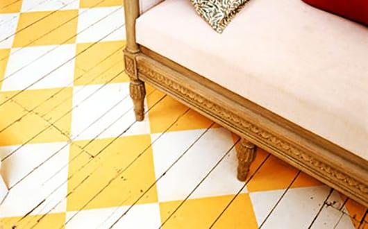 55 kreative streichen ideen f r holzbodenbelag freshouse. Black Bedroom Furniture Sets. Home Design Ideas