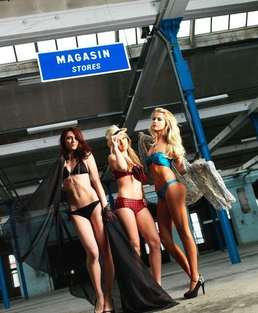 sonnenschutz mit der neuen alarm bikini mit UV sensor