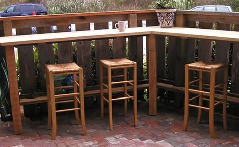 DIY Bar aus Holz selber machen