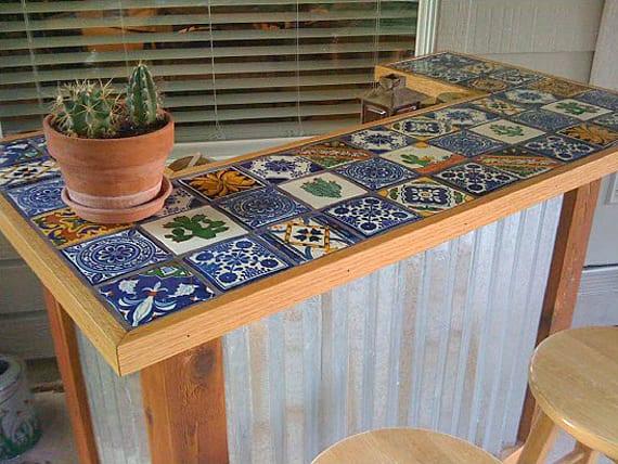Gartentisch selber bauen aus stein  Garten-Bar selber bauen - fresHouse
