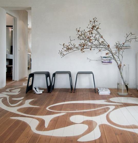 boden darstellung und streichen idee für moderne Raumgestaltung
