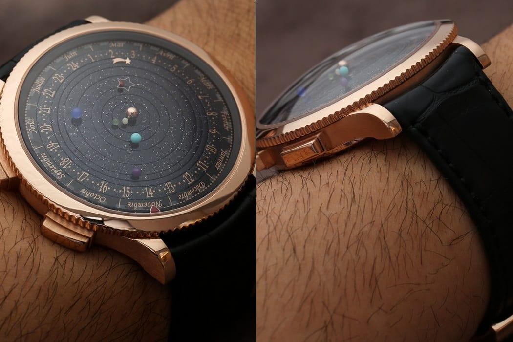 interessante geschenkidee für männer mit dem neuen Armbanduhr mit Planeten des Solarsystems