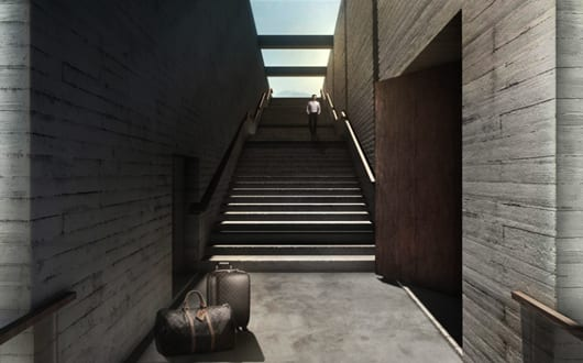 Luxus Residenz Und Traumhaus Aus Beton An Der