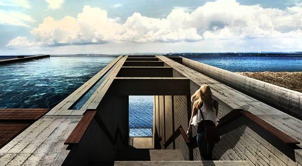 Exceptional Luxus Residenz Aus Beton An Der Küste   Alle Frauen Good Ideas