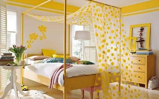 möbel-streichen-idee-in-gelb-als-einrichtungsidee ...