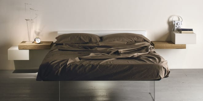 minimalistisch wohnen und schlafzimmer einrichten mit designer, Hause deko