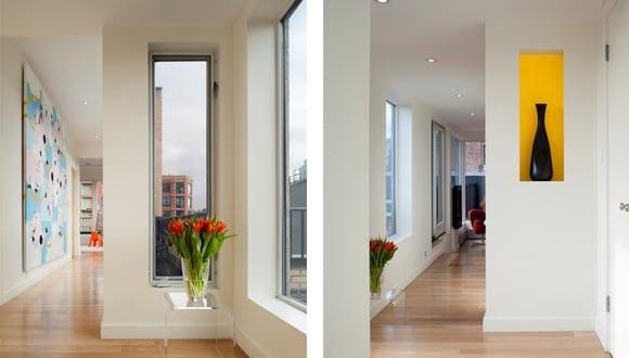 minimalistische wohnideen und moderne flurgestaltung. Black Bedroom Furniture Sets. Home Design Ideas