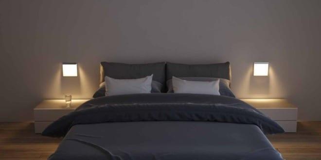 moderne Wandbeleuchtung fürs Schlafzimmer mit OSRAM LED Leuchten QOD - fresHouse