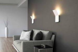 Moderne wandbeleuchtung mit den led wandleuchten qod von - Moderne wandbeleuchtung ...