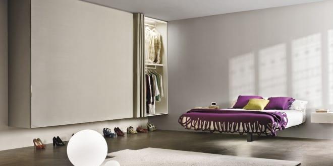 Moderne Möbel Für Minimalistische Schlafzimmer Einrichtung In Weiß