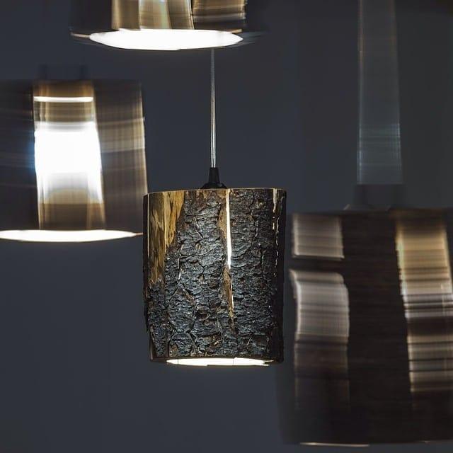 moderne hängelampe aus holz für moderne Einrichtung und Raumgestaltung
