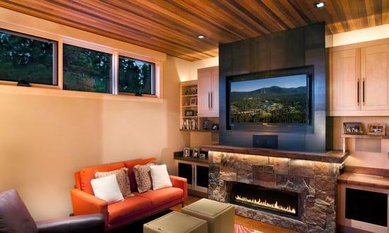 Moderne tv wandpaneele designs und ideen freshouse - Wandpaneele ideen ...
