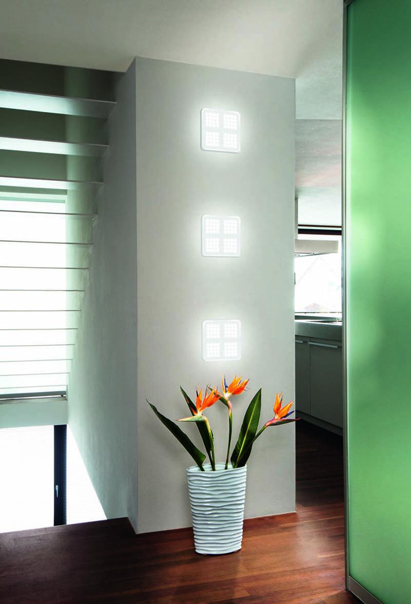 wohnidee für wandbeleuchtung mit osram LED-Leuchten QOD