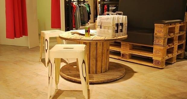 Palettenm bel inspiration f r moderne einrichtung mit diy sofa und couchtisch holz freshouse - Inspiration einrichtung ...