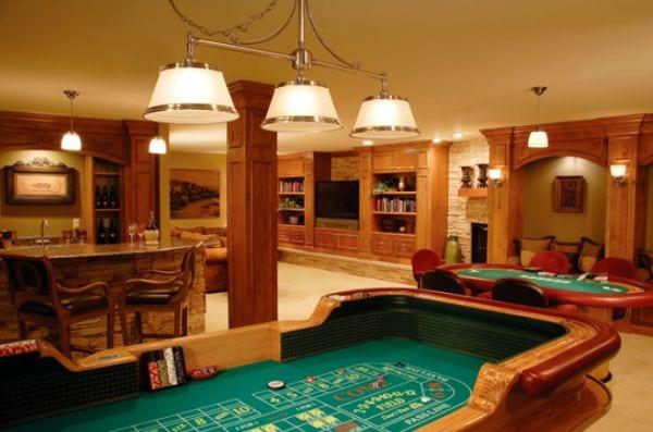 Schon Kreative Wohnideen Für Spiel  Und Partyraum Im Keller