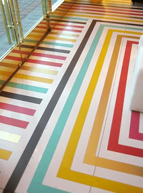 55 kreative streichen ideen für holzbodenbelag   freshouse