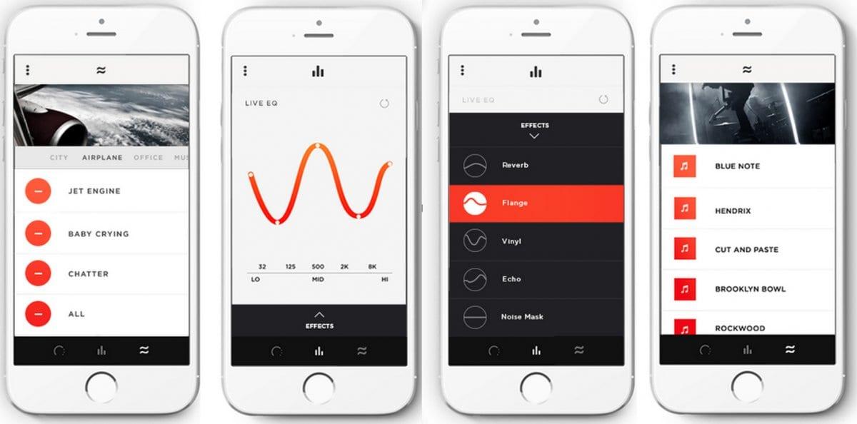 moderne Ohrstöpsel mit App