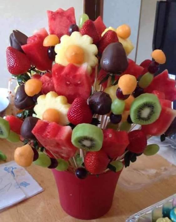 DIY Früchte-Häppchen für sommerpartys