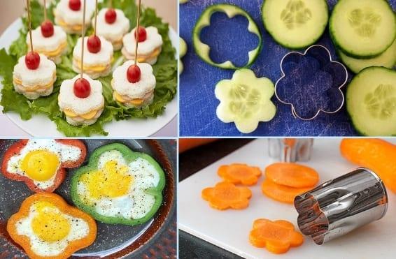 interessante Ideen für Kinder-party-essen und fingerfood