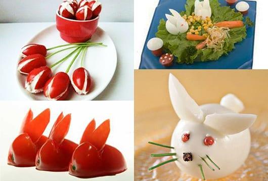 kreative DIY essen-Dekoration