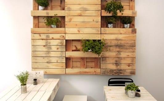 Coole Wanddeko Selber Bauen Aus Paletten Als Kreative Und