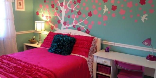 coole deko ideen und farbgestaltung schlafzimmer m dchen freshouse. Black Bedroom Furniture Sets. Home Design Ideas