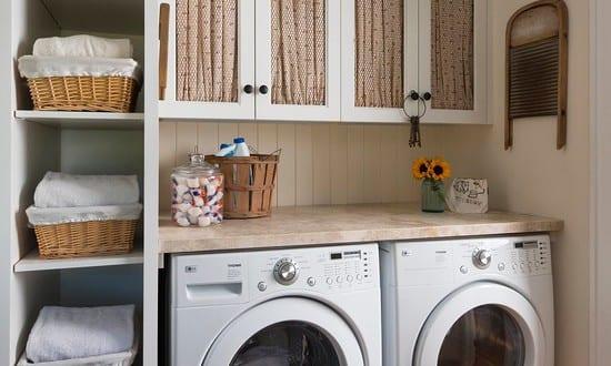 coole einrichtungsidee f r kleine waschk chen freshouse. Black Bedroom Furniture Sets. Home Design Ideas
