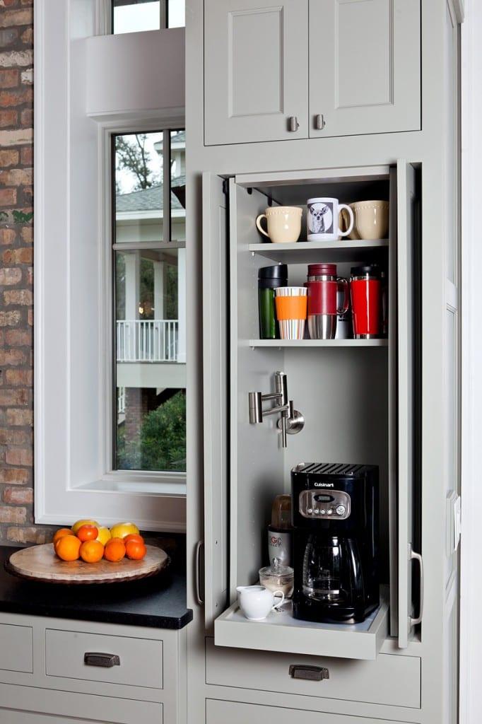 33 platzsparende Ideen für kleine Küchen - fresHouse | {Vorratsschrank küche 48}