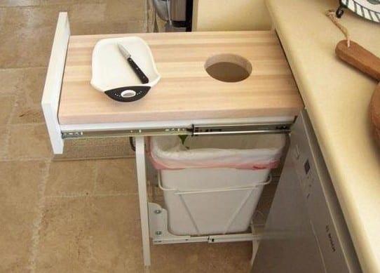 kleine küche modern einrichten mit platzsparender kücheneinrichtung