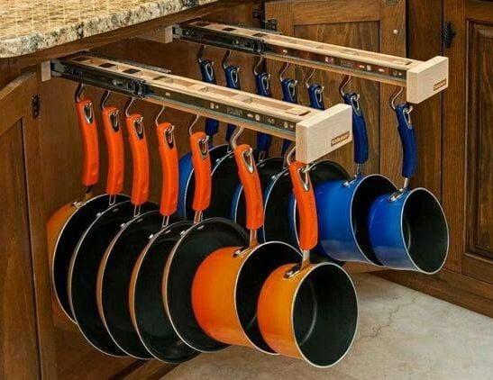 kreative und platzsparende ideen für küchen