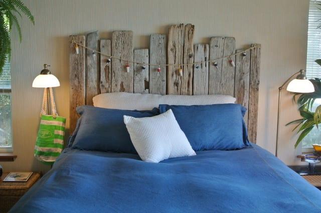 DIY Schlafzimmer deko und coole bastelidee mit holz