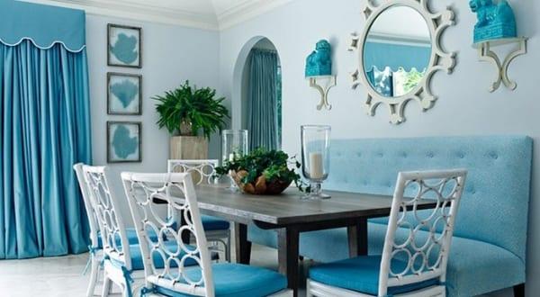 farbgestaltung in blau f r optische raumvergr erung mit wandfarbe hellblau freshouse. Black Bedroom Furniture Sets. Home Design Ideas