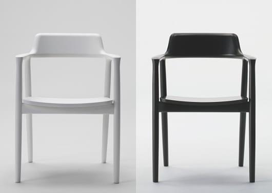 moderne armsessel weiß und schwarz aus holz