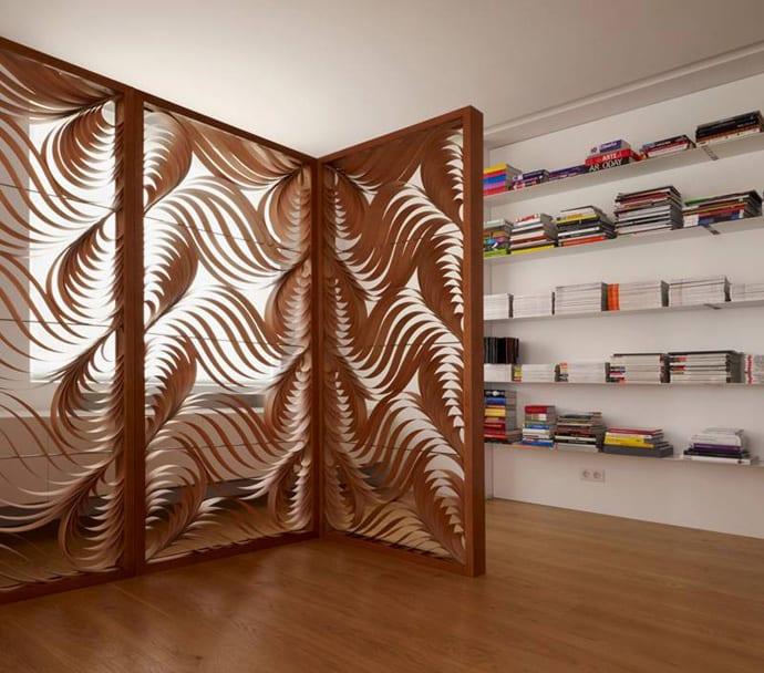 50 Raumteiler Inspirationen Fur Dezente Raumtrennung Freshouse