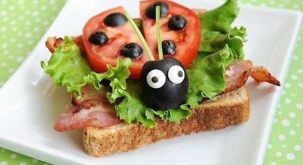 interessante kinder geburtstagsessen und party essen idee mit sandwichen freshouse. Black Bedroom Furniture Sets. Home Design Ideas