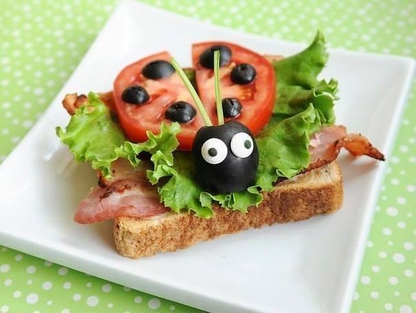 kreative sandwich-deko-ideen für kinder-partys