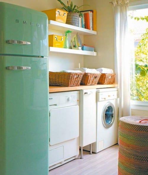 ideen für kleine küche mit waschecke