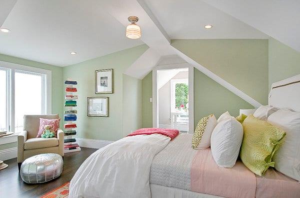 wandfarbe grün für moderne schlafzimmer farbgestaltung