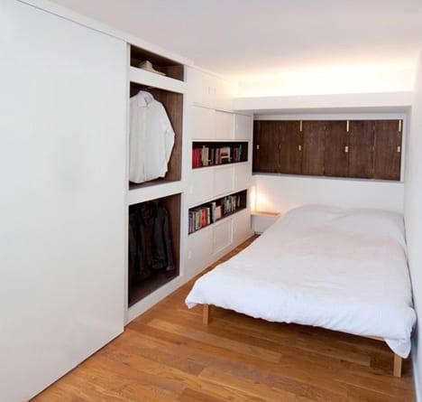 Häufig Ein kleines Loft-Schlafzimmer - kreative Einrichtungsidee für IB94